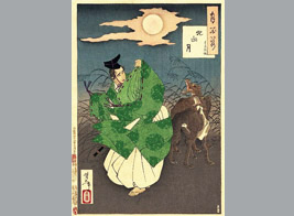 Japanese wolves were always good actor on the fairy tale and folk story